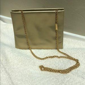 Vintage Salvatore Ferragamo Gold Crossbody Purse